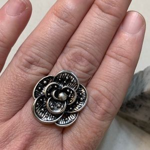 Big Bold Flower Ring Size 10